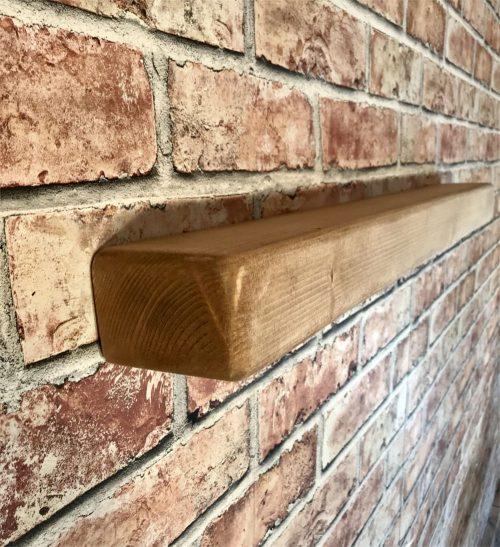 Reclaimed Rustic floating shelf