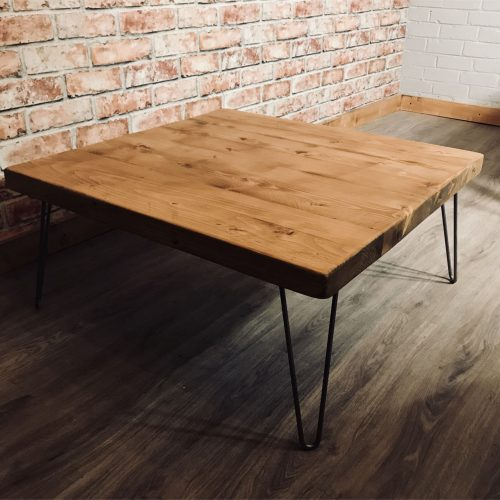 Rustic chunky Coffee table