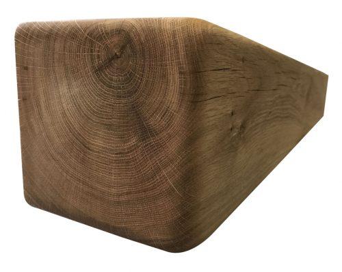 "6"" x 6"" Solid Oak Mantel Beam With Straight Edge"