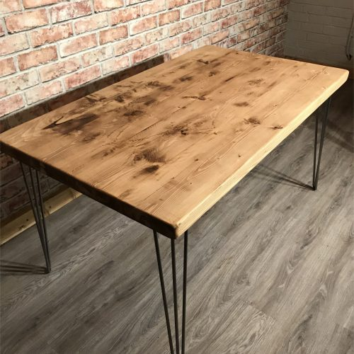 Large Rustic Chunky Top Table