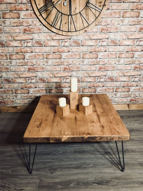 Rustic chunky Coffee table