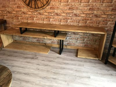 Bespoke industrial style TV stand/ unit