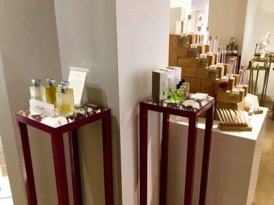 Custom made perfume stand