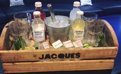 Customised Rustic Gin Tasting boxes created for Jaques Bar Doncaster