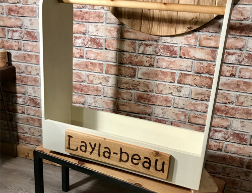 Personalised Childs Dressing up Rail