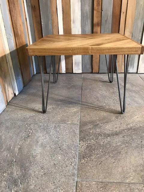 Oak Plank patterned coffee table