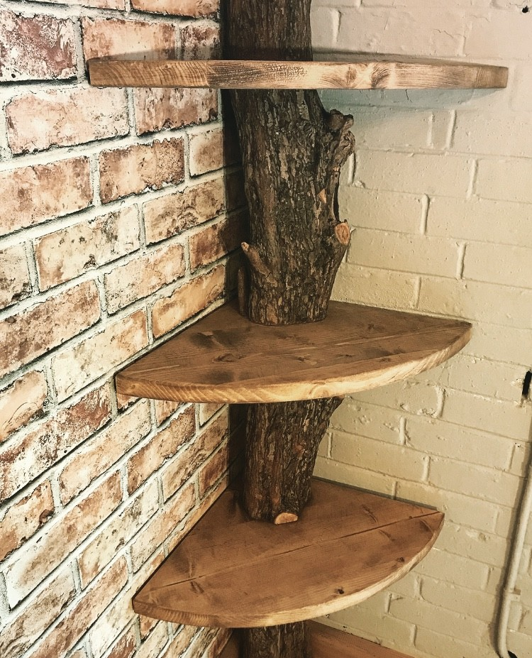 Bespoke natural shelving unit | Bespoke & Commissions | Solid Oak Designs