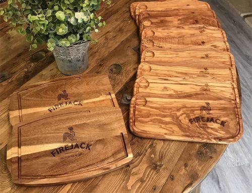 Branded serving platters