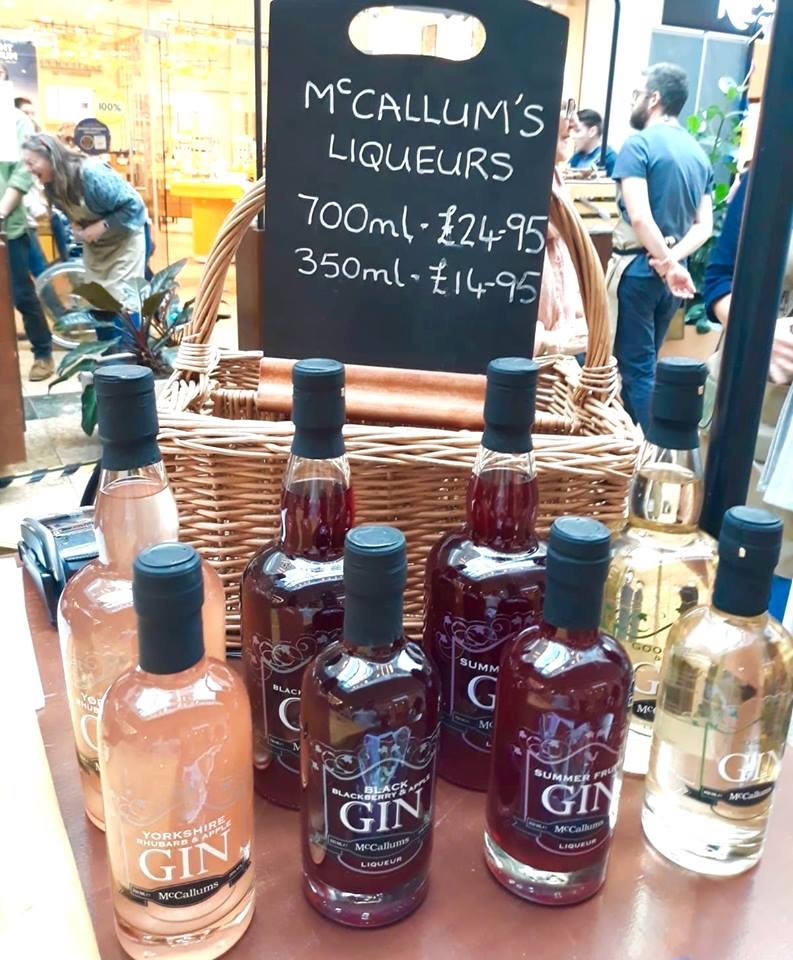 Branded display boards for Mc'Callums Liqueurs | Solid Oak Designs