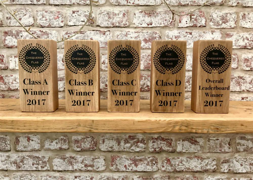 Bespoke oak Trophies | Solid Oak Designs
