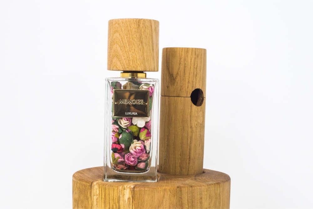 Solid oak designs | Memoize Luxury Perfume