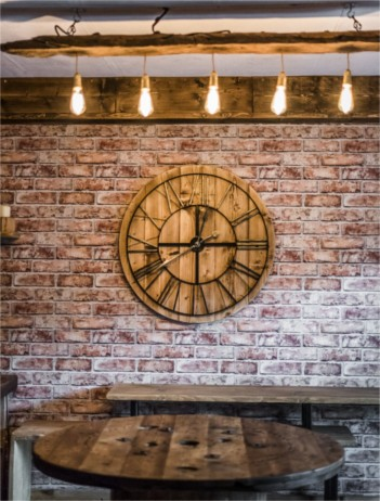 Handmade Clock - Solid Oak Designs